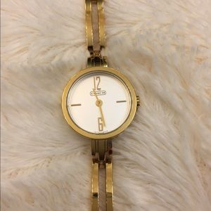 "Gold Coach 7"" Wrist Watch"